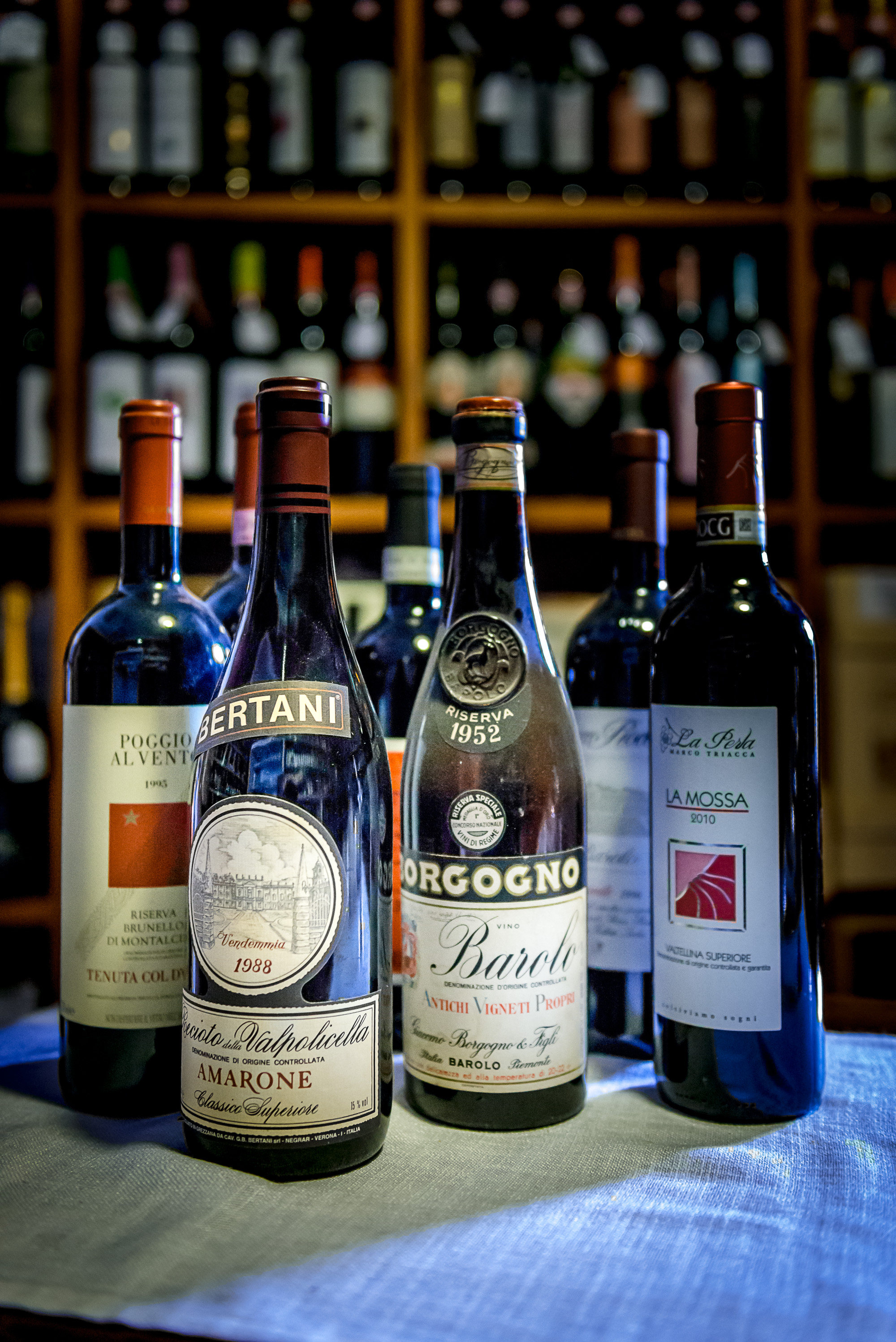 The Great Wines...